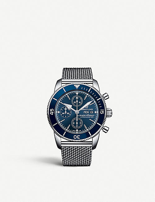 BREITLING A13313161C1A1 Superocean Héritage II steel watch