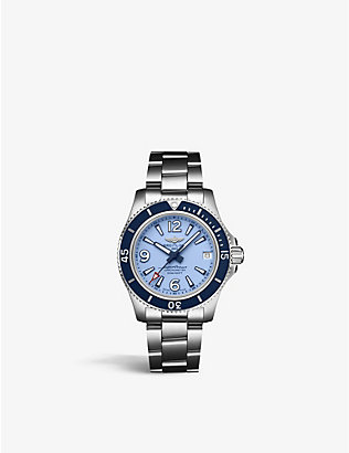 BREITLING: A17316D81C1A1 Superocean stainless steel watch