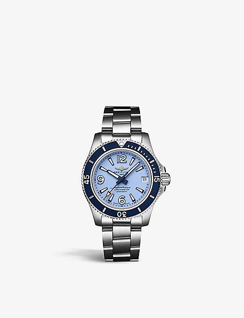 BREITLING A17316D81C1A1 Superocean stainless steel watch