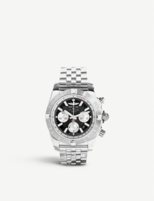 BREITLING AB011011/B967/375A Chronomat 44 stainless steel chronograph watch