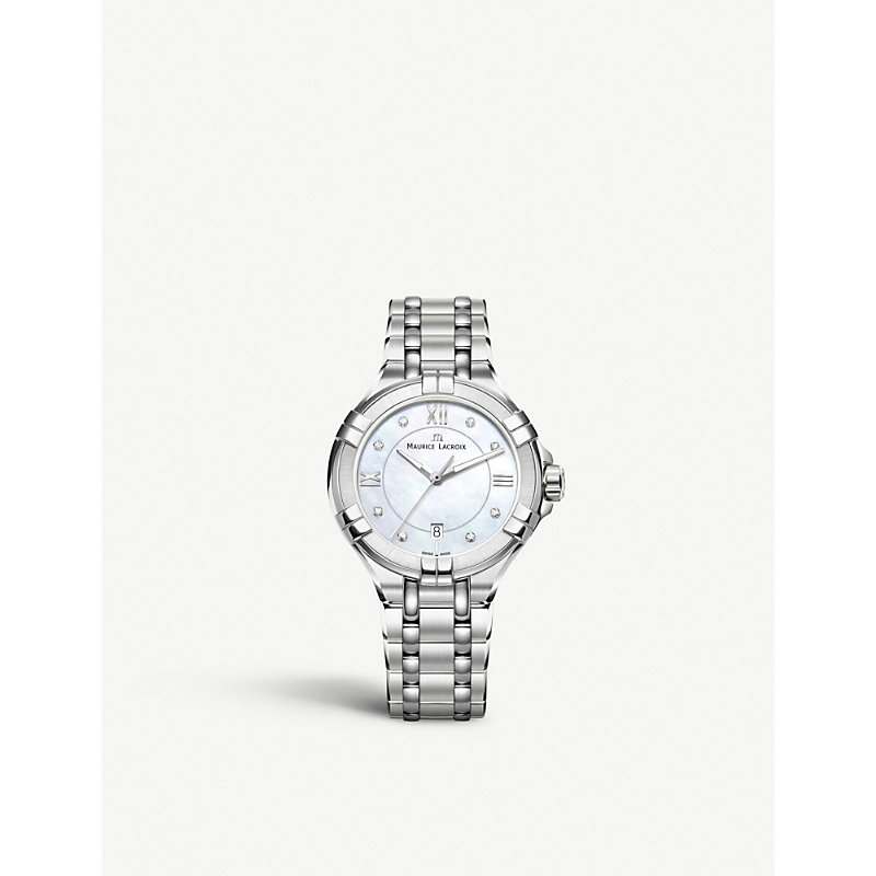 MAURICE LACROIX Ai1004-Ss002-170-1 Aikon Stainless Steel in Silver