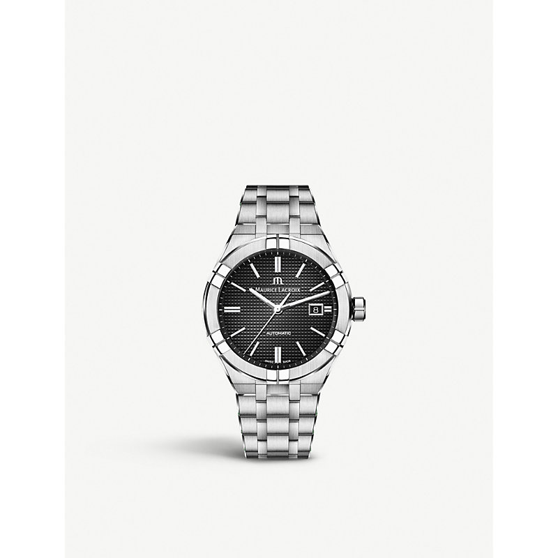 MAURICE LACROIX Ai6008-Ss002-330-1 Aikon Stainless Steel Watch in Silver