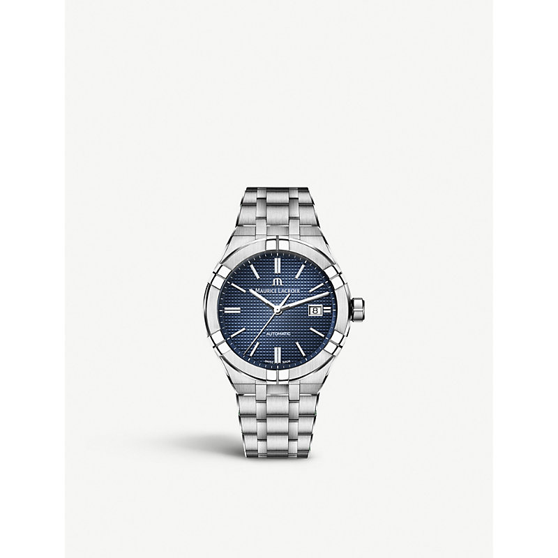 MAURICE LACROIX Ai6008-Ss002-430-1 Aikon Stainless Steel Watch in Silver