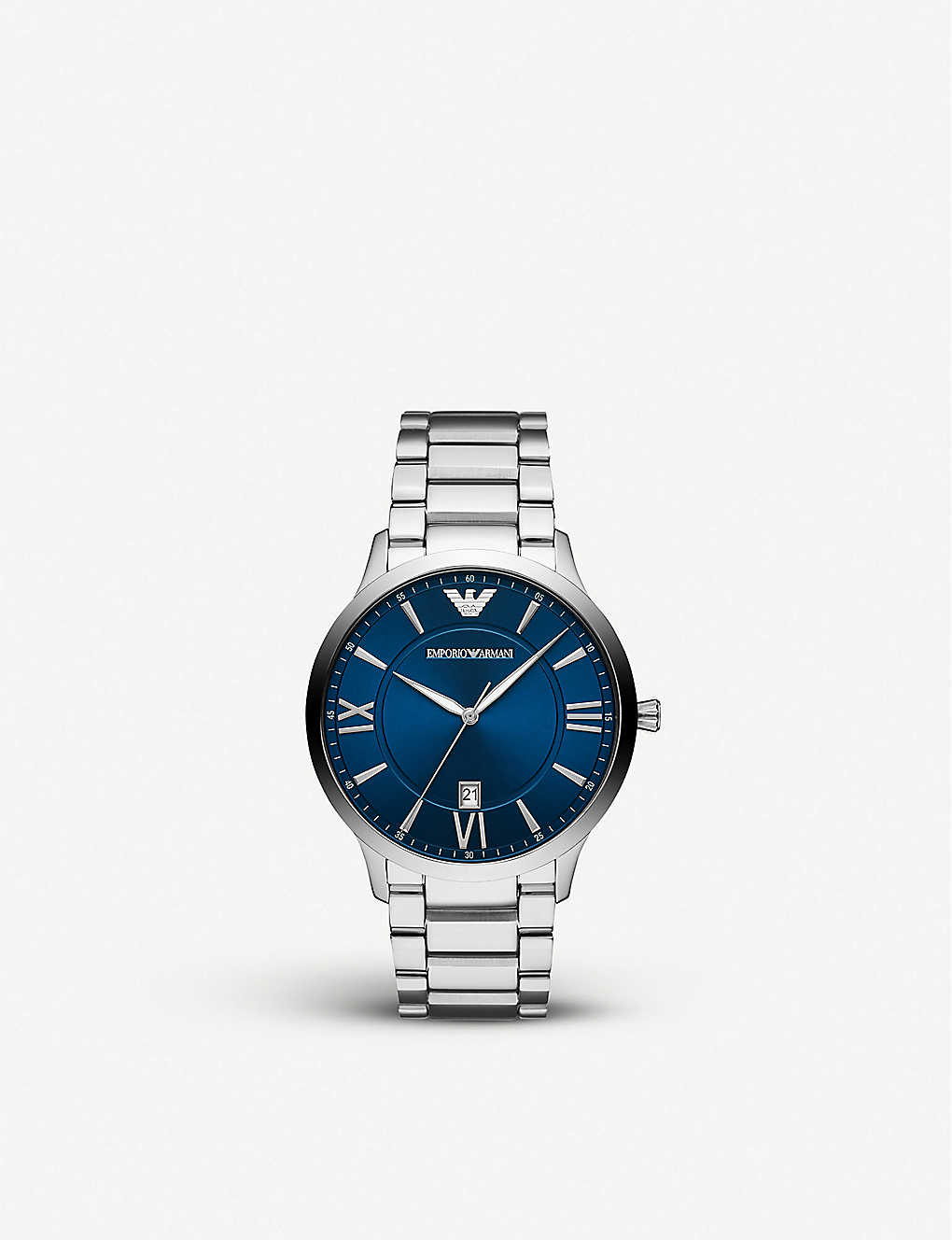 EMPORIO ARMANI: AR11227 Giovanni stainless steel watch