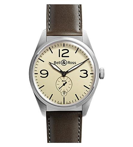 Bell & Ross Brv123-bei-st/sca Vintage watch
