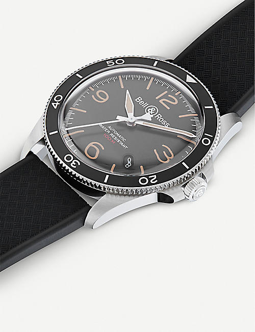BELL & ROSS BRV292-HER-ST/SRB V2-92 Steel Heritage watch