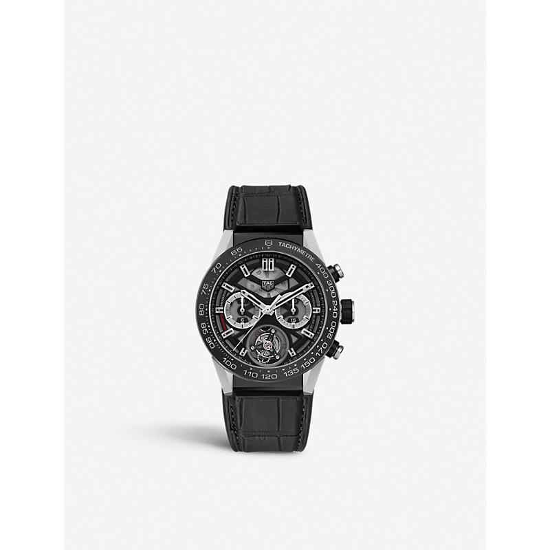 TAG HEUER | CAR5A8Y.FC6377 Carrera Chronograph Watch | Goxip
