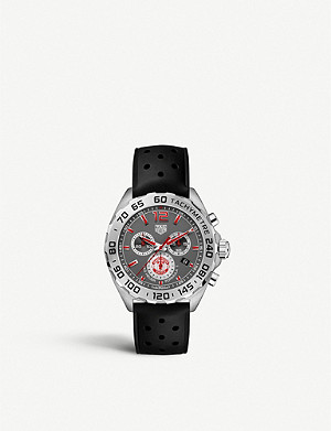 TAG HEUER CAZ101M.FT8024 Formula 1 stainless steel tachymetre watch