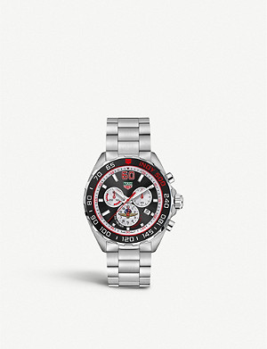 TAG HEUER CAZ101V.BA0842 Formula 1 Indy 500 Special Edition stainless steel watch