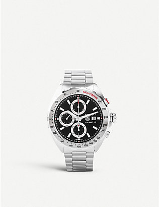 TAG HEUER: CAZ2015BA0876 Formula 1 stainless steel chronograph watch