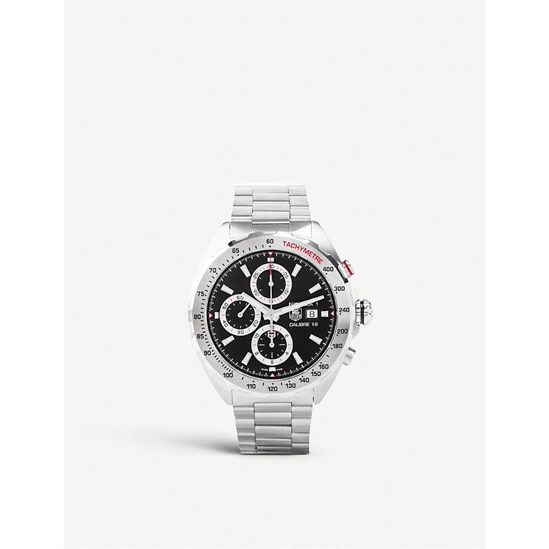 TAG HEUER | CAZ2015BA0876 Formula 1 Stainless Steel Chronograph Watch | Goxip