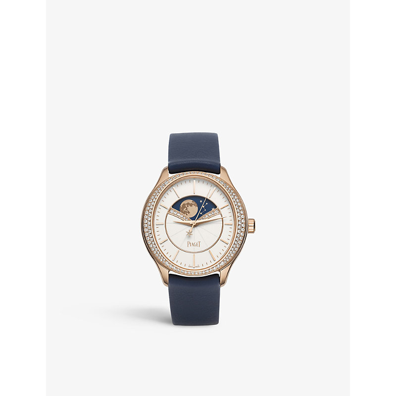 PIAGET | G0A40110 Limelight Stella Rose-Gold And Diamond Watch | Goxip