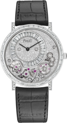 PIAGET G0A41122 Altiplano white-gold diamond watch