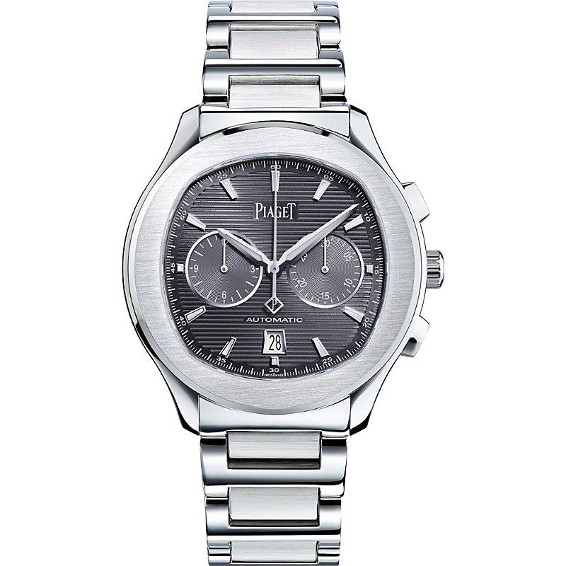 PIAGET | G0A42005 Polo S Steel Automatic Bracelet Strap Watch | Goxip
