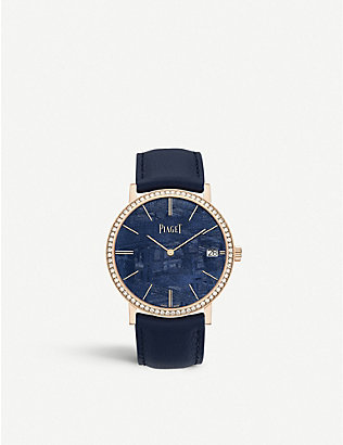 PIAGET: G0A44052 Altiplano rose gold and diamond watch
