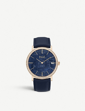 PIAGET G0A44052 Altiplano rose gold and diamond watch