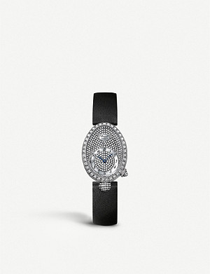 BREGUET G8928BB8D844DD0D white-gold, mother of pearl, sapphire crystal and diamond watch