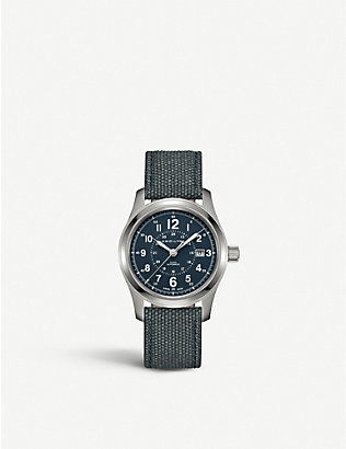 HAMILTON: H70305943 Khaki Field stainless steel watch