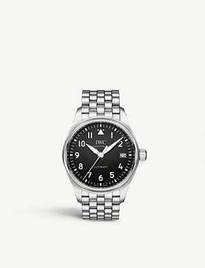 IWC SCHAFFHAUSEN IW324009 Pilot stainless steel automatic watch