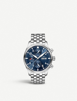 IWC SCHAFFHAUSEN IW377717 Pilot automatic stainless steel watch