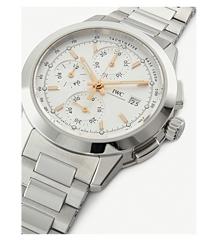 promo code 0d7e8 b170e Iw380801 Ingenieur Stainless Steel Watch