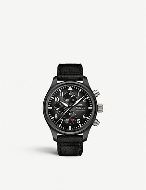 IWC SCHAFFHAUSEN IW389101 Pilot Top Gun ceramic watch