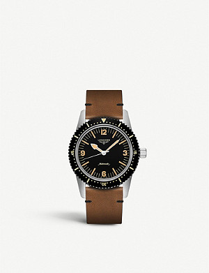 LONGINES 706438 Skin Diver steel watch