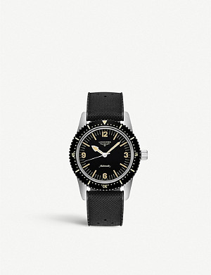 LONGINES L28224569 Skin Diver steel watch