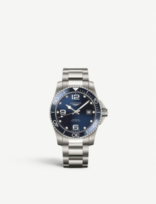 LONGINES L37814966 Hydroconquest stainless steel watch