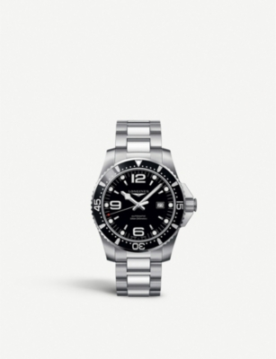 LONGINES L38414566 Hydroconquest steel watch
