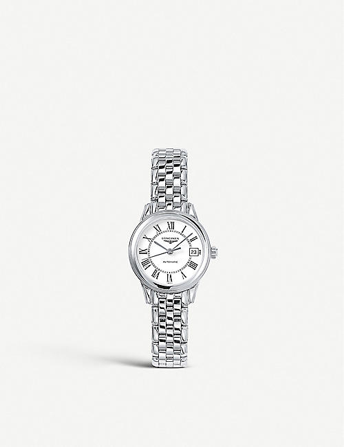 LONGINES: L4.274.421.6 Flagship stainless steel watch
