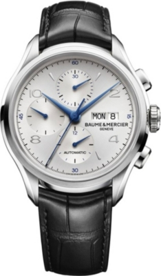 BAUME & MERCIER M0a10123 Clifton stainless steel watch