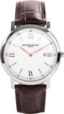 BAUME & MERCIER M0a10181 promesse stainless steel watch