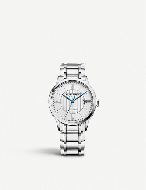BAUME & MERCIER: Classima 10215 stainless steel watch