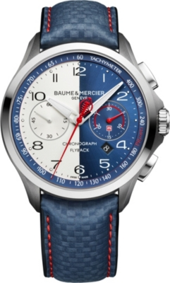 BAUME & MERCIER M0A10344 Clifton Club Cobra stainless steel watch