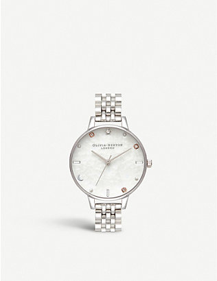 OLIVIA BURTON: OB16GD30 Celestial stainless steel watch