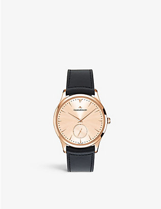 JAEGER-LECOULTRE: Q1352520 Master ultra thin rose gold watch