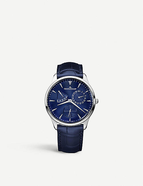JAEGER-LECOULTRE Master Ultra Thin Réserve de Marche stainless steel watch