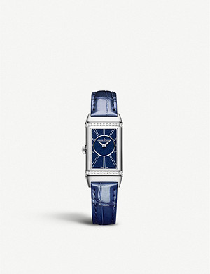 JAEGER-LECOULTRE Q3348420 Reverso One Duetto stainless steel and diamond watch
