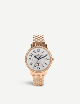JAEGER-LECOULTRE Q3442120 Rendez-vous Night & Day rose-gold automatic watch
