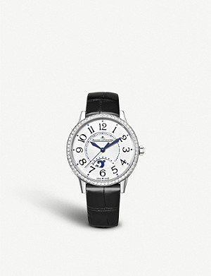 JAEGER-LECOULTRE Q3448421 Rendez-Vous Night & Day stainless steel and diamond watch