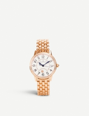 JAEGER-LECOULTRE Rendez-Vous Night & Day rose-gold watch