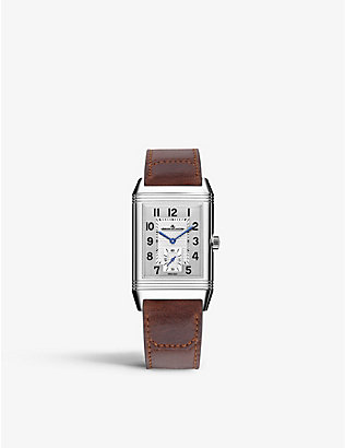 JAEGER-LECOULTRE: Q3858520 Reverso Classic stainless-steel and satin watch