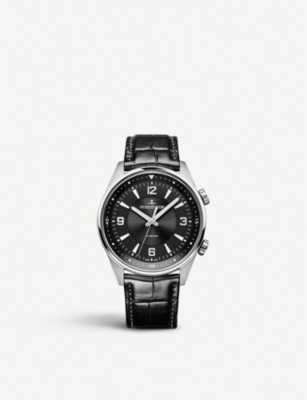 JAEGER-LECOULTRE Q9008470 Polaris Automatic stainless steel and alligator leather watch