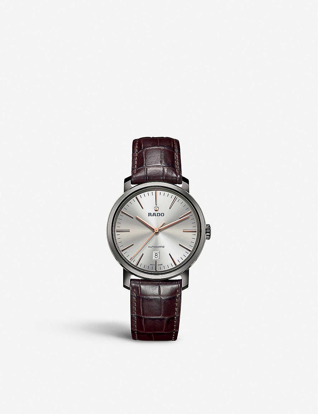 c7a142029 RADO - R14074106 Diamaster plasma high-tech ceramic watch ...