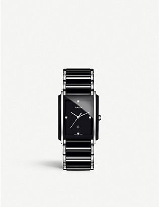 RADO: R20206712 Integral ceramic and stainless steel watch