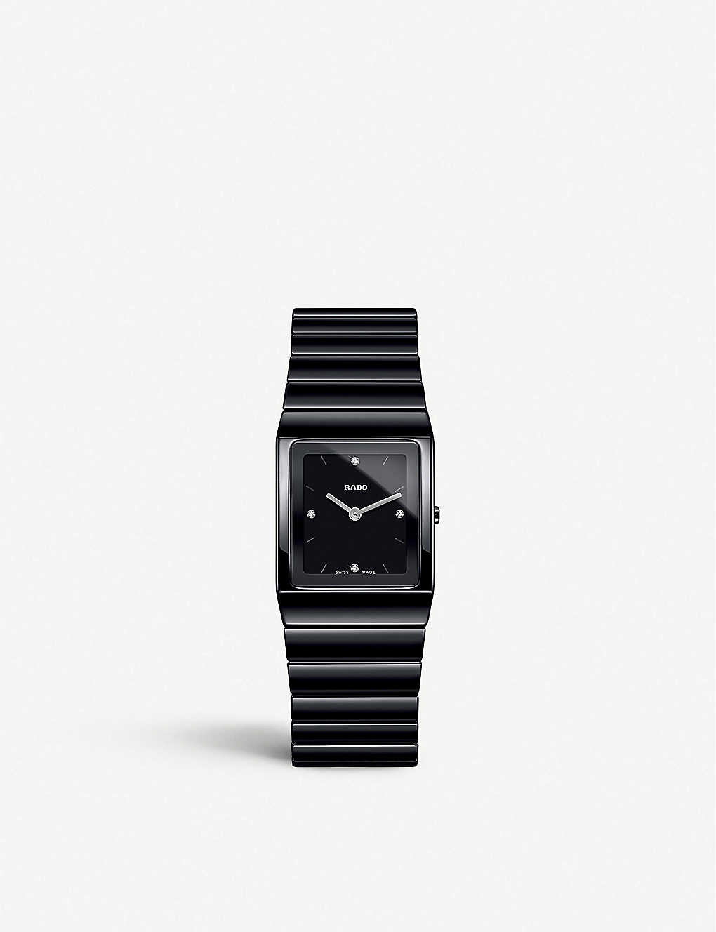 RADO: R21702702 Ceramica black high-tech ceramic watch