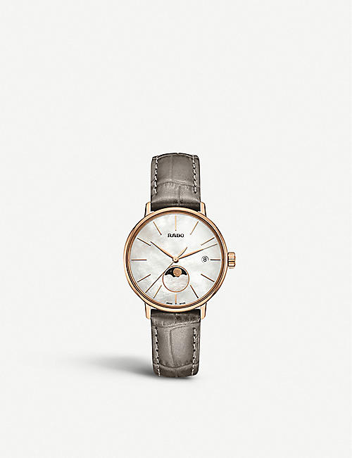 RADO R22885945 Coupole Classic rose gold-plated steel watch