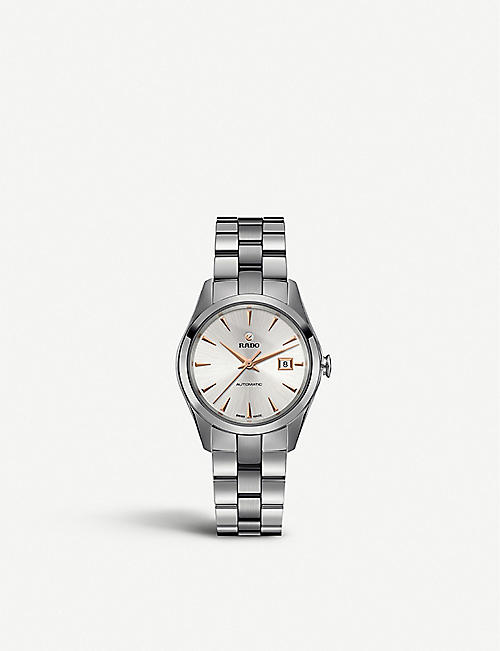 RADO: R32091113 HyperChromestainless steel and ceramic watch