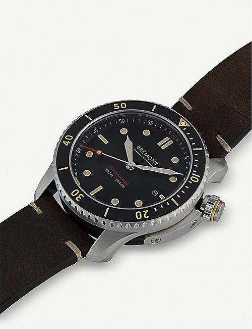 BREMONT S500 supermarine automatic stainless-steel watch